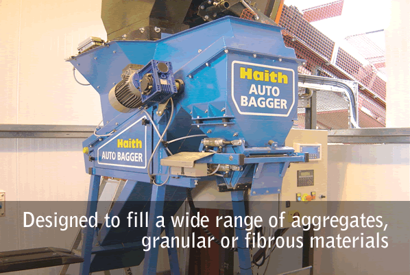 Designed to fill a wide range of aggregates, granular or fibrous materials
