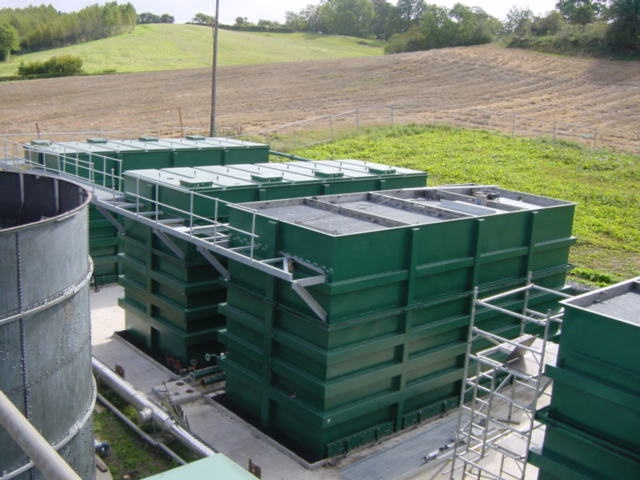 Submerged Aerated Filters Within Package Treatment Plants
